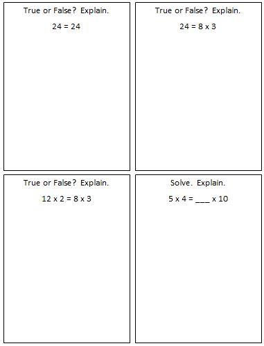 Equality - Multiplication