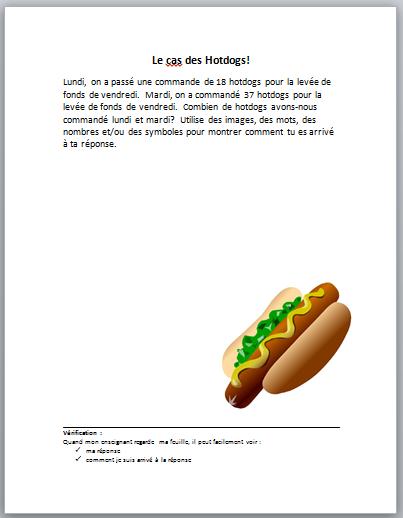 Le cas des Hotdogs!