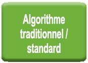 Algorithme traditionnel / Standard