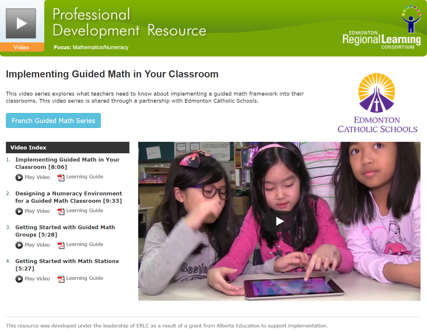 Implementing Guided Math in Your Classroom