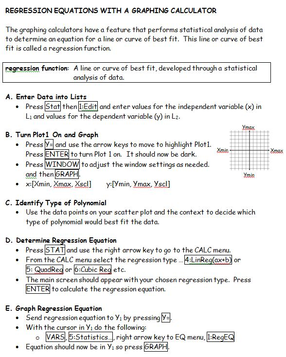 ERLCMath30-2: Polynomial Calculator Instructions Sheets